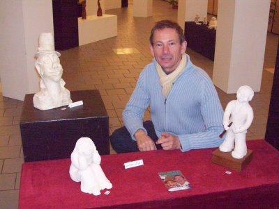 A l'expo de l'Atelier des Arts de Wattrelos (19/11)