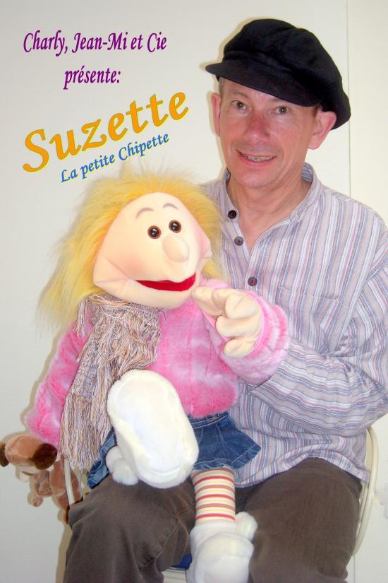 Suzette qui attend votre invitation pour les fêtes