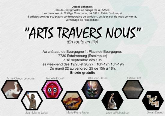 Affiche expo chateau de bourgogne 2015