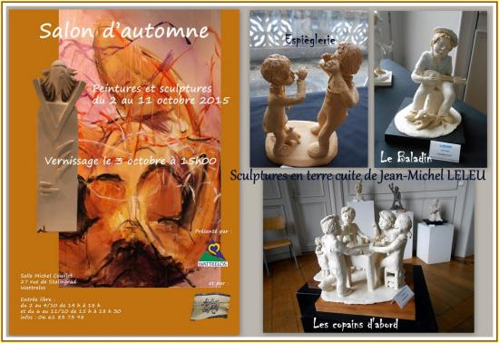Expo automne ateleir des arts wattrelos octobre 2015